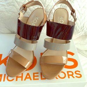 ⭐️ NIB Michael Kors Lizzie High Heels 9.5 ⭐️